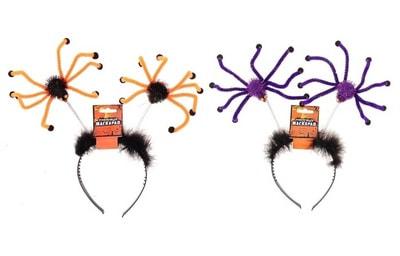 Фото Ободок с пауками карнавальный