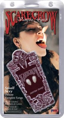 Фото Реалистичные клыки вампира маленькие