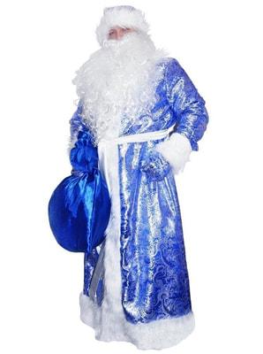 дед мороз синий блестящий
