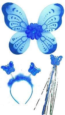 Фото Крылья бабочки с палочкой и ободком