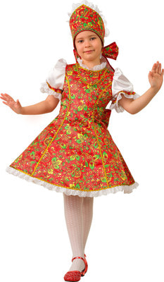 864fb088676 Костюм народный Марьюшка детский 5201 купить в интернет-магазине -  My-Karnaval.ru