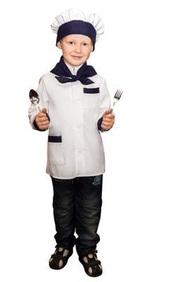 Фото Костюм Повар для мальчика детский