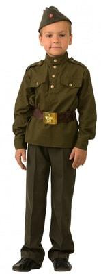 Фото Детский костюм солдата для мальчика