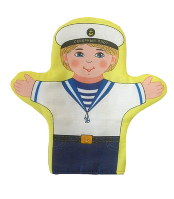 Фото Кукла-рукавичка Моряк