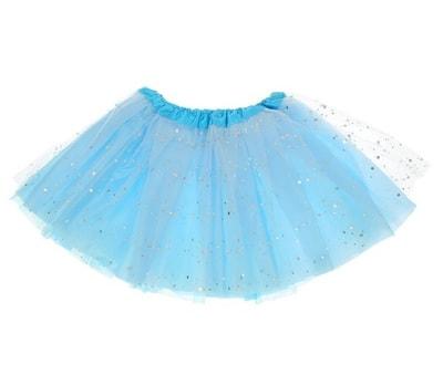 Фото Юбка Модница голубая детская