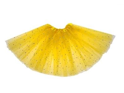 Фото Юбка Звездочка желтая детская