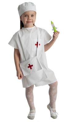 Фото Костюм маленького доктора детский