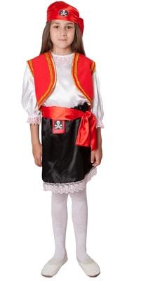 Фото Костюм смелая пиратка детский