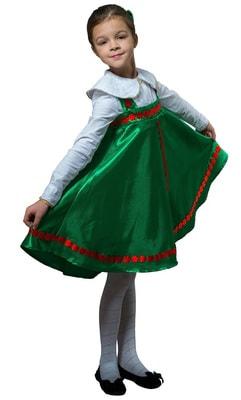 Фото Костюм Травушка плясовой детский