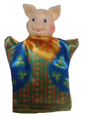 Фото Кукла-перчатка Поросенок 2
