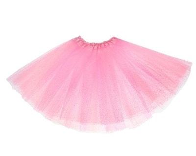 Фото Юбка трехслойная светло-розовая детская
