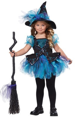 Фото Костюм ведьма-милашка детский