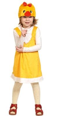 Фото Костюм цыпочка плюш детский