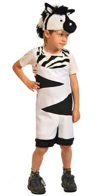 Фото Костюм зебра детский