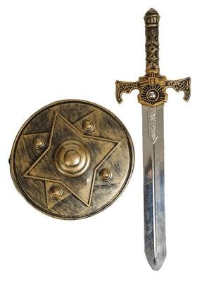 Фото Набор богатыря щит и меч 1