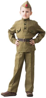 Фото Костюм советского солдата для мальчика