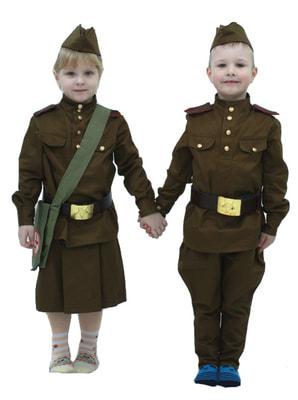 Фото Костюм военная форма для мальчика детский