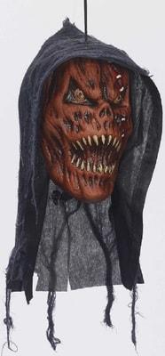 Фото Отрубленная голова Тыква-монстр