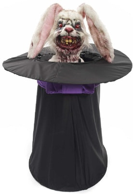 Фото Зомби-кролик в шляпе