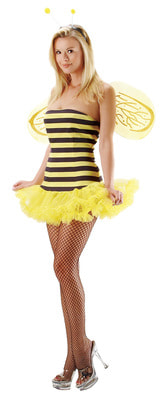 Фото Костюм полосатой сексуальной Пчелки взрослый