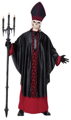 Фото Костюм Зловещий Папа Римский взрослый