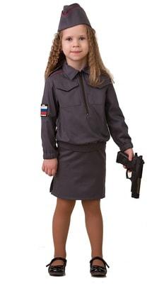 Фото Костюм Полицейская детский
