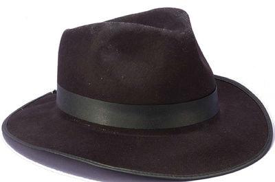 Фото Черная шляпа Гангстера взрослый
