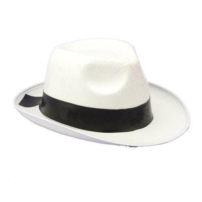 Фото Белая шляпа Гангстера взрослый