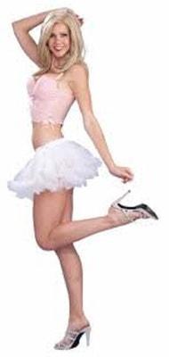 Фото Подъюбник танцовщицы белый