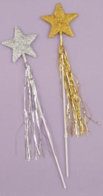 Фото Волшебная палочка звезда (серебряная)
