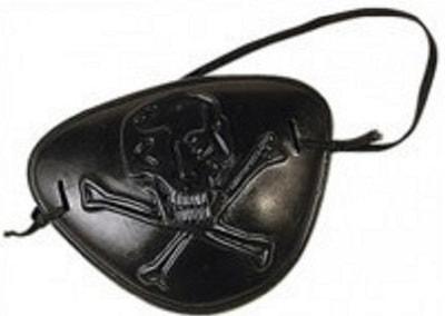 Фото Наглазник отважного пирата чёрный