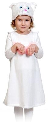 Фото Костюм Кошечка в маске плюш детский