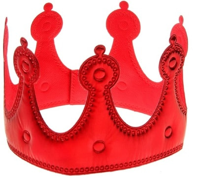 Фото Корона сказочная Принцесса красная