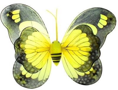 Фото Крылья Бабочка (желтый)