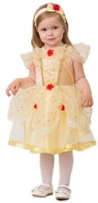 Фото Костюм Красавица Белль малышка детский