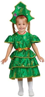 Фото Костюм Новогодняя елочка в короне детский