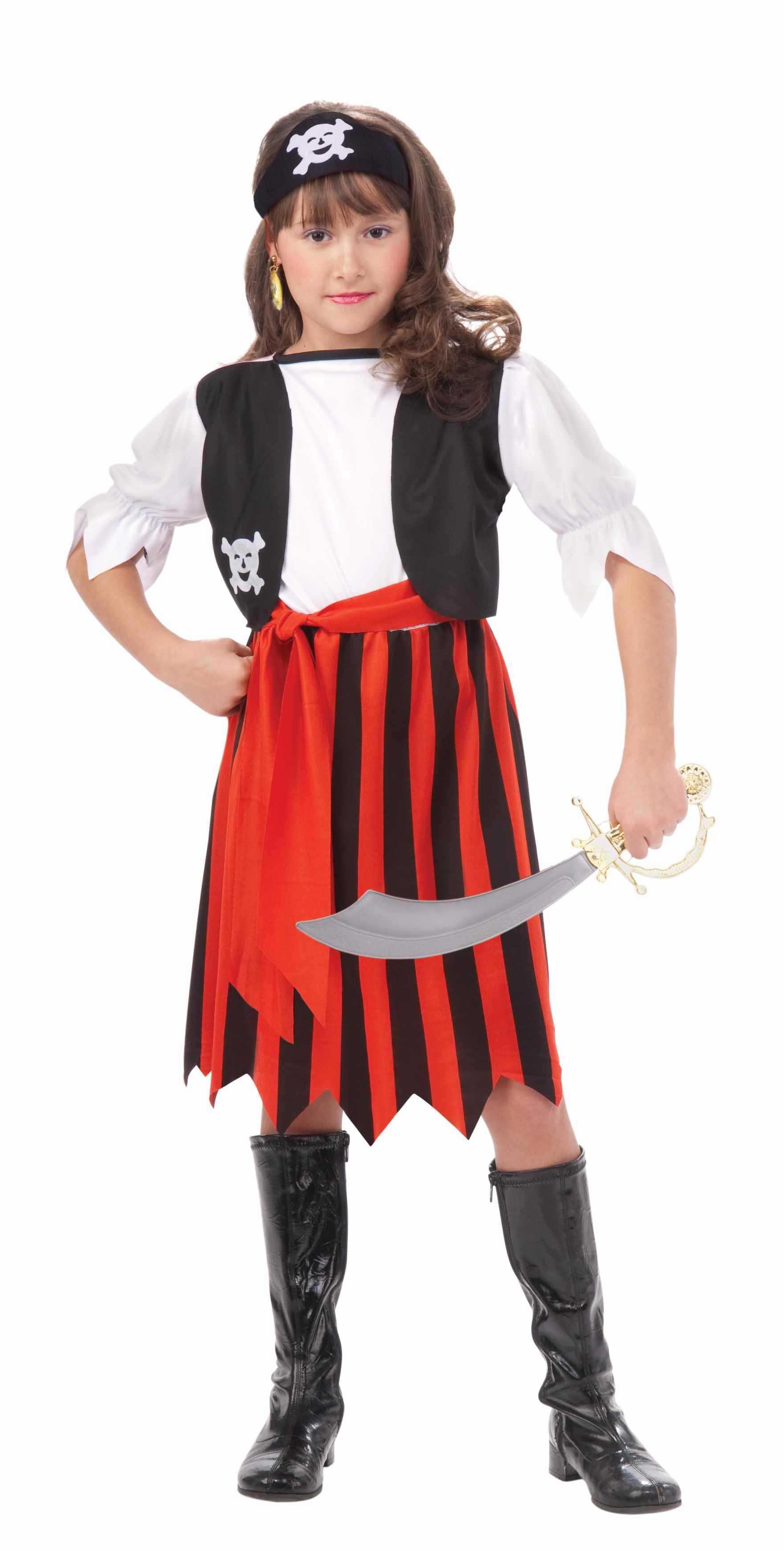 Костюм пирата для девочки своими руками картинки