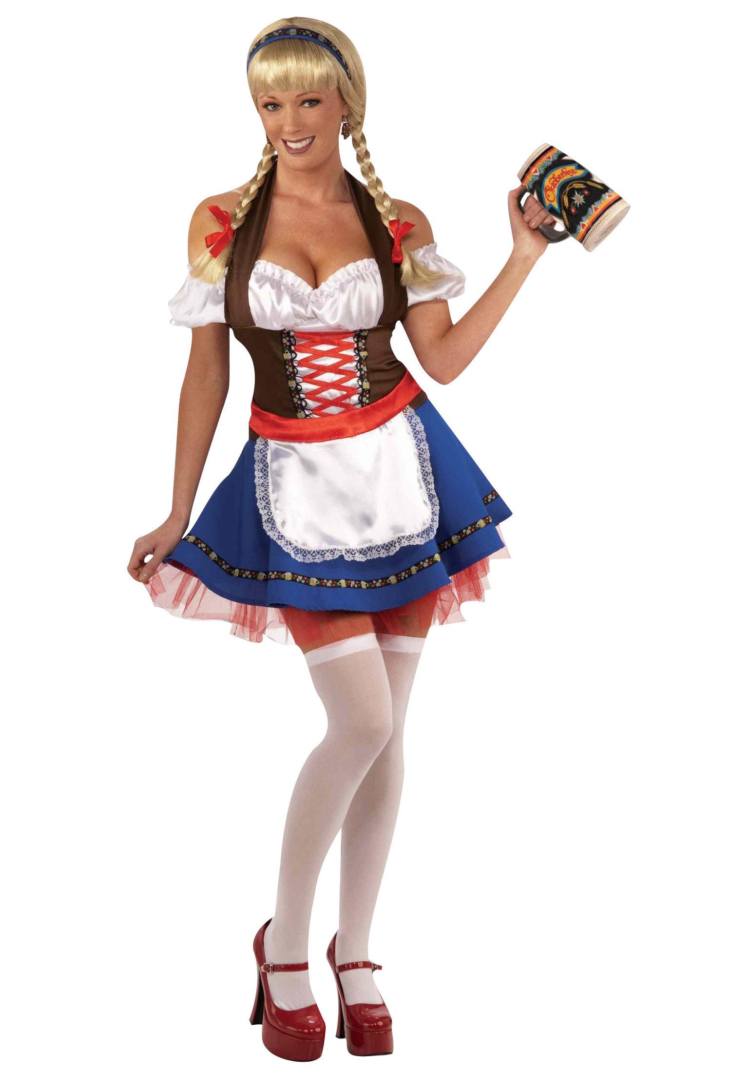 Девушки в баварских костюмах фото эро