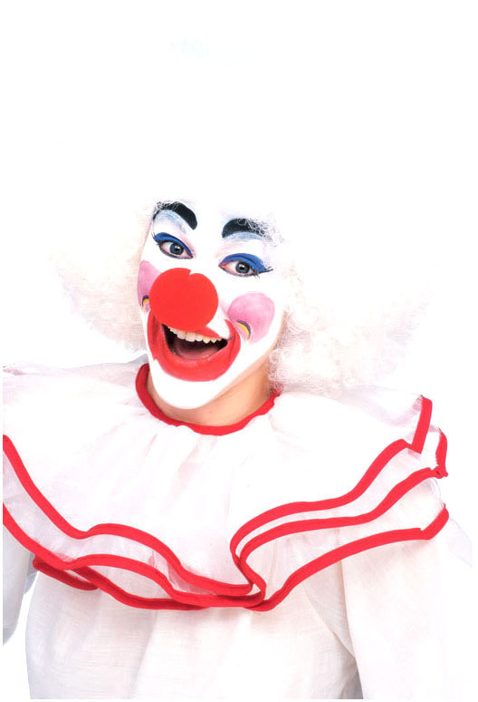 Парик Клоун Белоснежный взрослый