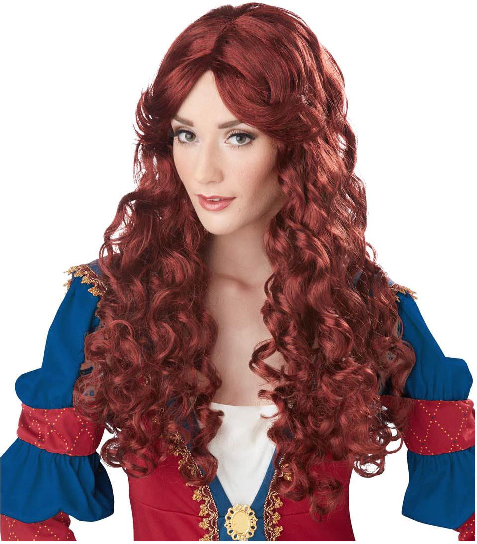 Парик Рыжая принцесса взрослый
