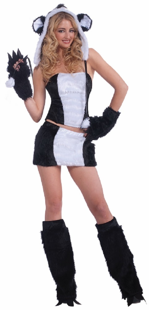 костюм панды для взрослых