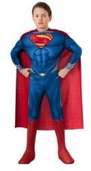Фото Костюм Супермен с мускулами детский