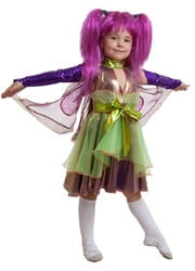 Фото Костюм Фея стрекоза (фиолетовая) детский