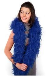 Фото боа карнавальное (голубое)