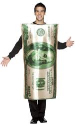 Фото Костюм Банкнота 100 долларов взрослый