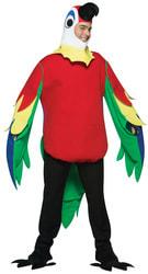 Фото Костюм Красный попугай взрослый