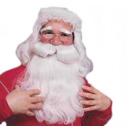 Фото Парик и борода Санта Клауса