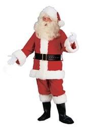 Фото Костюм Санта Клаус Люкс (большой размер) взрослый