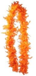 Фото Боа карнавальное (желто-оранжевое)