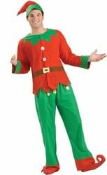 Фото Костюм помощник Санта Клауса (большой размер) взрослый